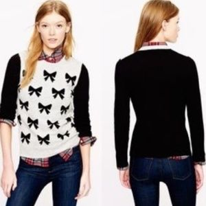 J. Crew Bow Sweater - XL